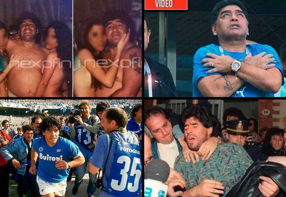 Los excesos que mataron a Maradona
