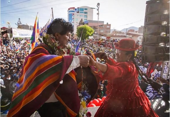 Fiebre de Evo Morales en Bolivia