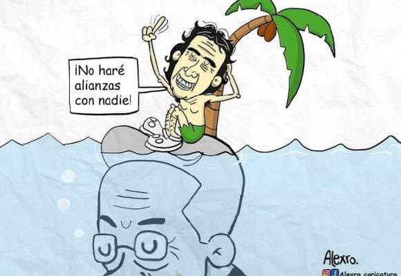 Caricatura: Las alianzas de Fajardo