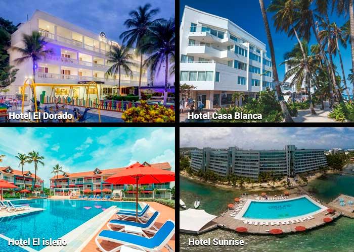Cuatro hoteles de San Andrés que quieren volver a arrancar