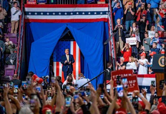 La huella negra de Trump