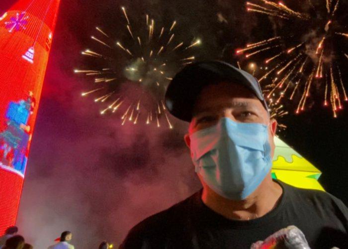 En Barranquilla se encendió la navidad de Colombia