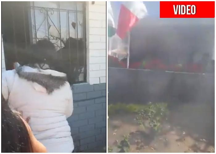 Aparece video de los 9 jóvenes quemados en CAI de Soacha