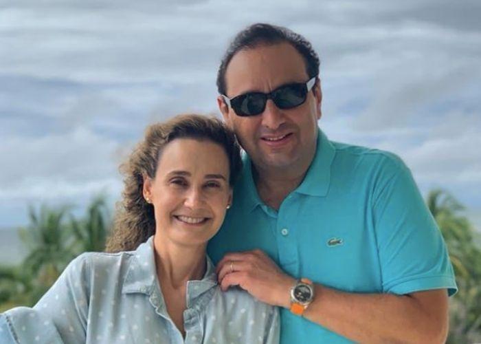 El escape del set de noticias de Inés María Sabaraín y Jorge Alfredo Vargas