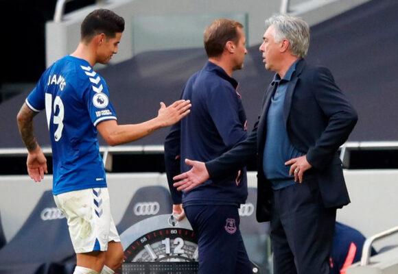 ¿James ya empieza a decepcionar a Ancelotti?