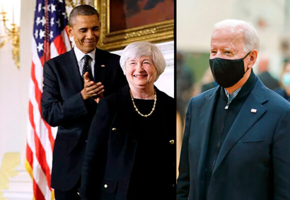 Janet Yellen, la escogida por Biden para manejar la economía norteamericana