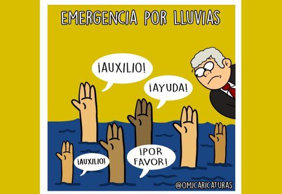 Caricatura: Duque y la emergencia en Colombia