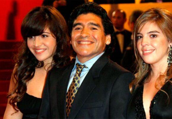 La pelea con sus hijas: el dolor que rompió el corazón de Maradona