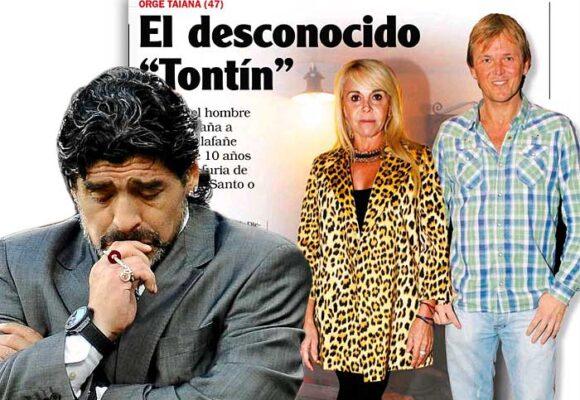 El traumático divorcio de Maradona que le rompió la vida