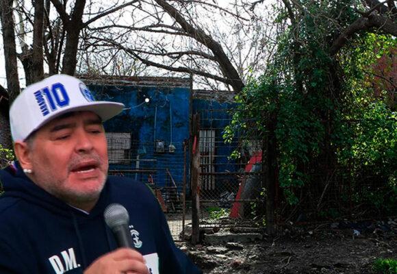 Una guarida de habitantes de calle: en lo que terminó convertida la casa de Maradona