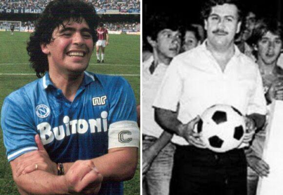 El encuentro entre Maradona y Escobar
