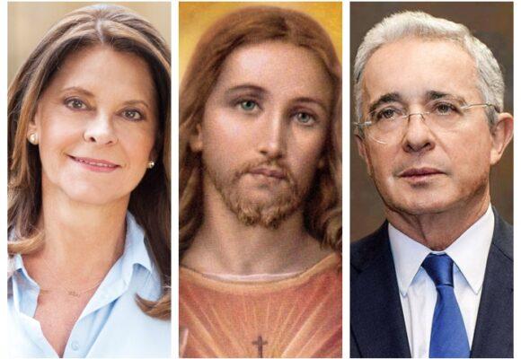 Marta Lucía, Jesucristo y Uribe: una nueva iglesia