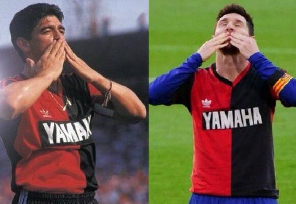El homenaje de Messi a Maradona que todos aplauden
