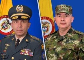 Los lunares de dos militares que podrían llegar a mayores generales
