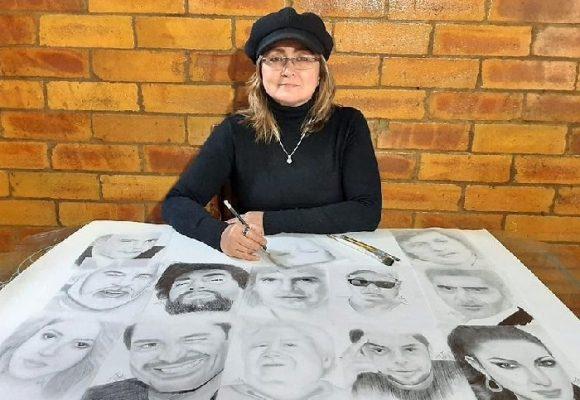 Taty Buitrago Posada, una artista colombiana de raíz popular