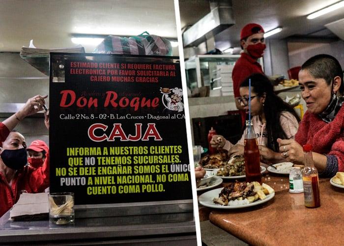 El secreto de Don Roque para vender más de 10 mil pollos al mes