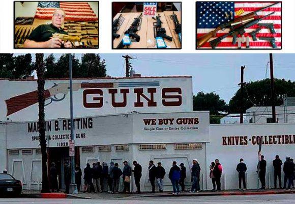 La disparada en las ventas de armas de Estados Unidos
