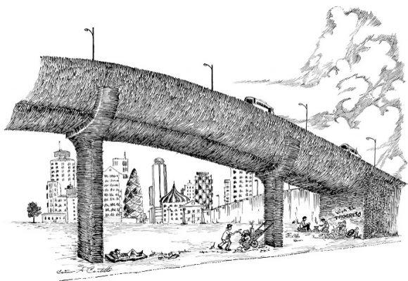 Caricatura: Los estragos del progreso y la modernidad