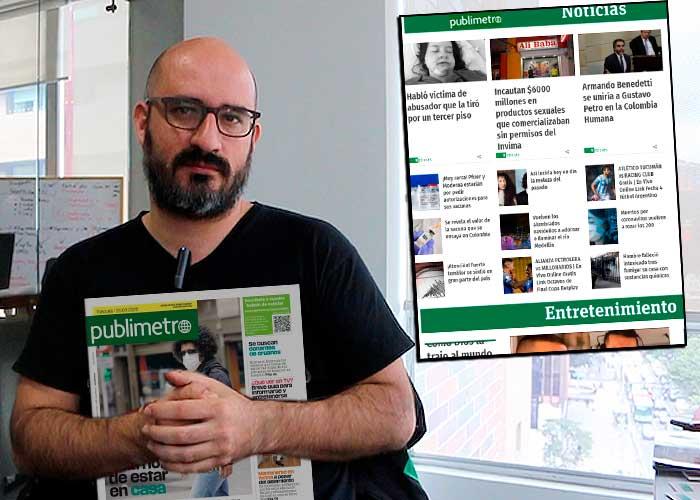 Publimetro, un sueco entre los más leídos de Colombia