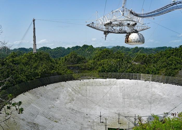 ¡Adiós al gran radiotelescopio de Arecibo!