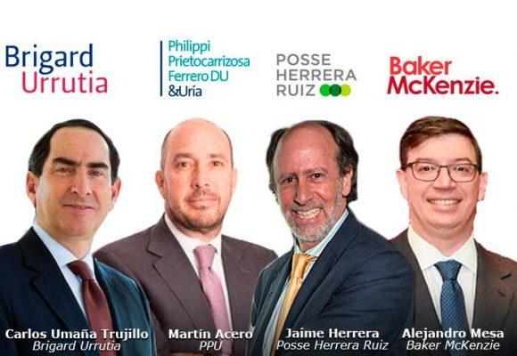 Las firmas de abogados más ganan en Colombia