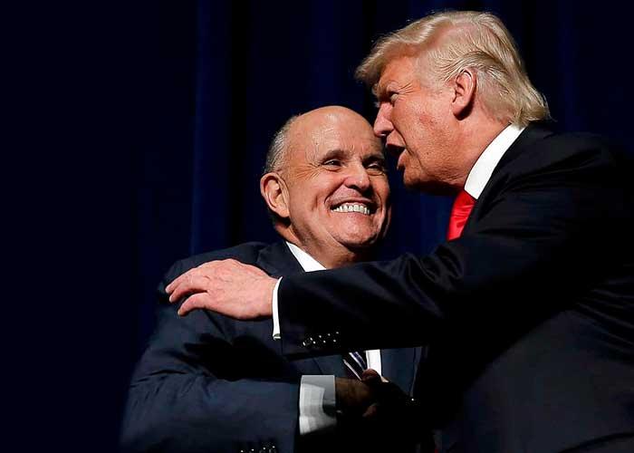 Rudy Giuliani, el perro rabioso de Trump