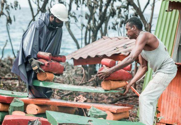 El huracán Eta azota las islas de San Andrés y Providencia
