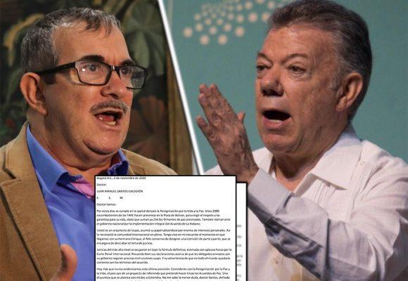 Timochenko llama a Santos a metérsele a la pelea por la paz