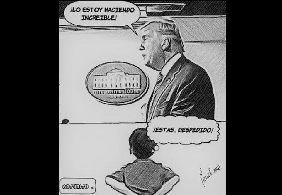 Caricatura: Donald Trump, ¡estás despedido!