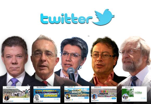 Top 10 de políticos colombianos con mayor número de seguidores en Twitter