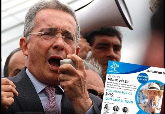 Uribe arranca campaña en regiones: ojo con el 2022