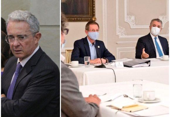 La rabia de Uribe por reunión Duque y Partido Farc