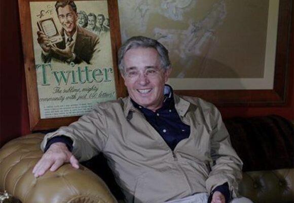 Uribe de regreso a su casa en Rionegro