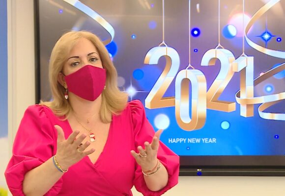 Bienvenido el 2021: mensaje de la gobernadora Clara Luz Roldán
