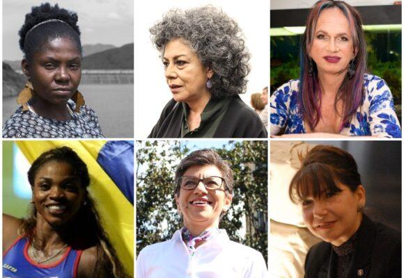 Siete colombianas entre las quince mujeres más importantes de la década