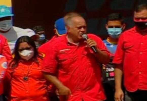 """""""El que no vote, no come"""" la amenaza de Diosdado Cabello a venezolanos"""