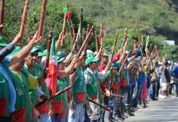 Guardia indígena Nasa premiada internacionalmente por su defensa a los DDHH