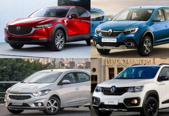 Estos son los 5 carros preferidos por los colombianos durante el 2020