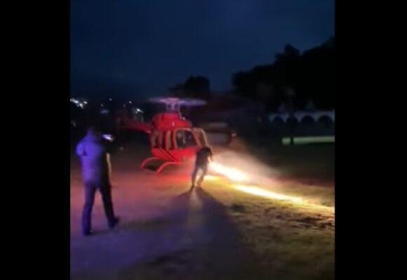 VIDEO: Aterrador momento en que empresario muere al ser golpeado por hélice de helicóptero