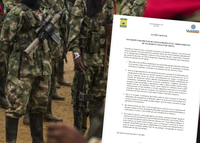 Temor en zona rural de Cúcuta tras presunta incursión de 100 paramilitares