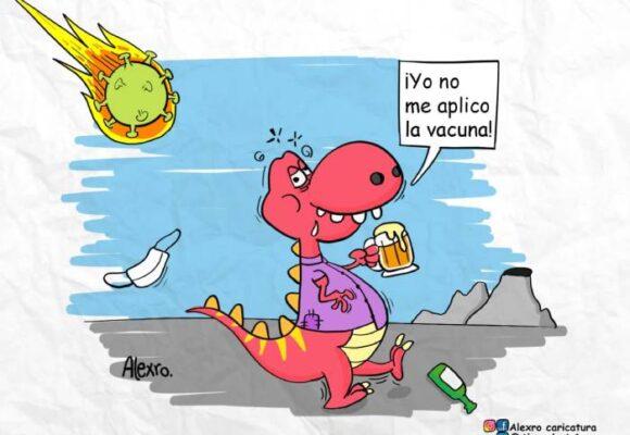 Caricatura: Nueva cepa de coronavirus
