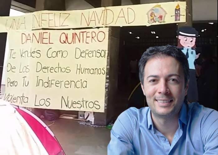 La indiferencia de Quintero con los huelguistas encadenados en La Alpujarra