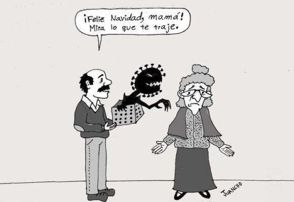 Caricatura: Cuidemos a nuestros seres queridos en este diciembre