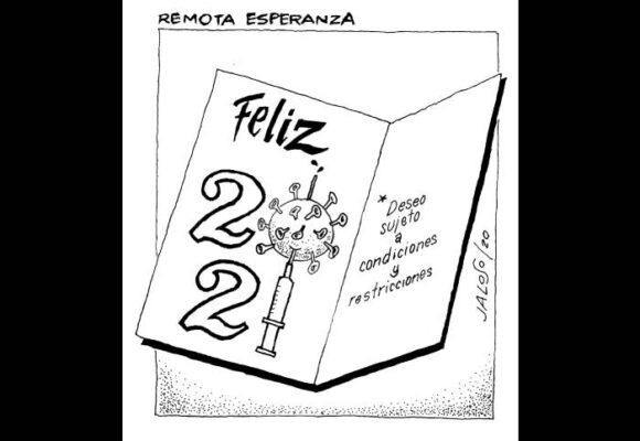 Caricatura: Remota esperanza