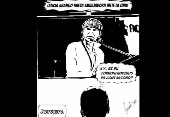 Caricatura: ¿Es contagioso el corronchovirus?