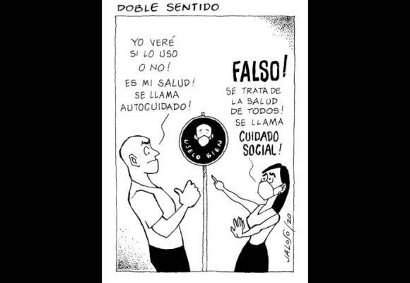 Caricatura: Doble sentido