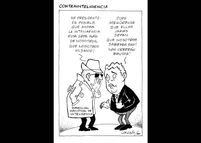 Caricatura: Contrainteligencia