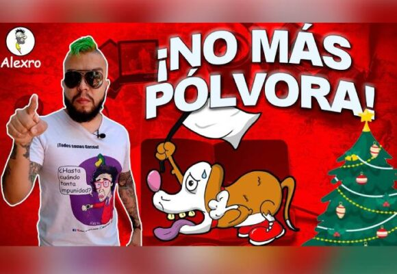 VIDEO: ¡No más pólvora!