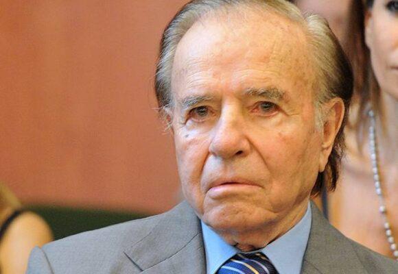 Carlos Menem, expresidente argentino, en coma inducido