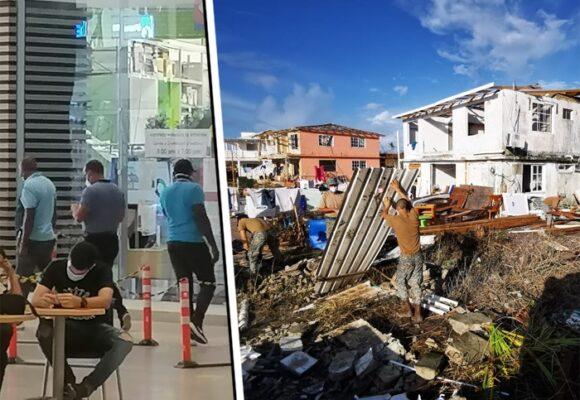 La gente en Providencia sin donde dormir y el alcalde se va de compras a Barranquilla